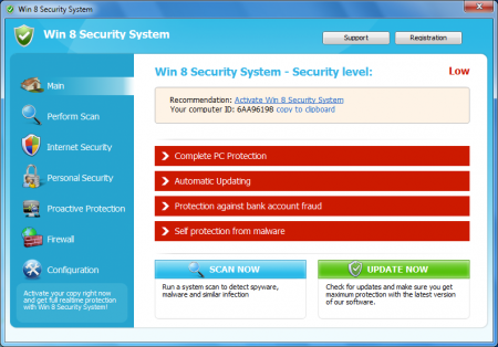 Win 8 Security