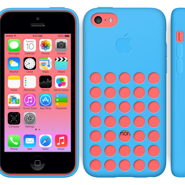 iPhone5C with case